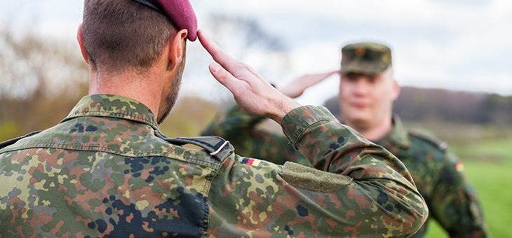 Bundeswehr-Umzüge
